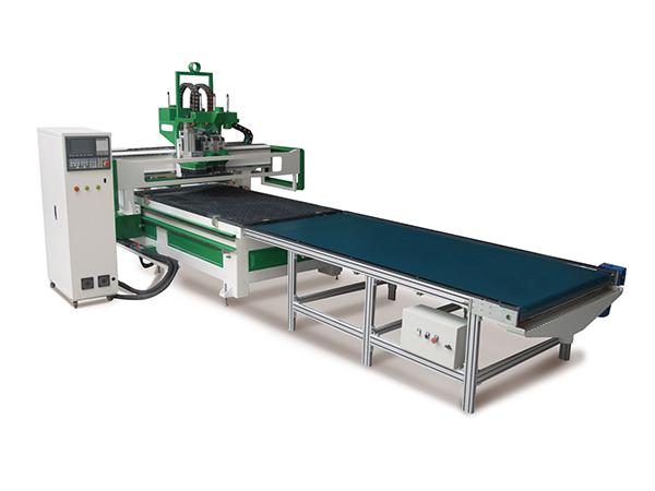 四川板式家具生产线(双工序加排钻开料机)