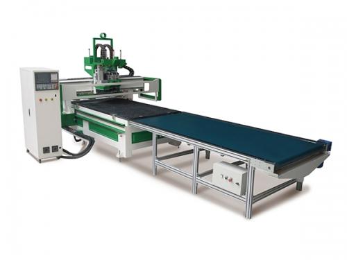板式家具生产线(双工序加排钻开料机)
